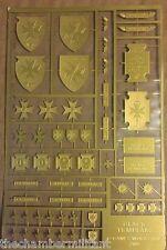 Warhammer 40k - Space Marines - Black Templars Etched Brass