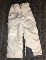 Columbia Bugaboo Ski Snow Board Pants Youth Small White Omni Heat Tech @p
