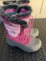 The North Face Youth Girls Sz 4Y Lace Winter Snow Boots Heat Seeker 200g GUC