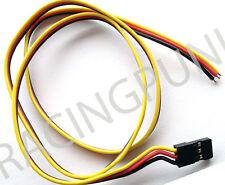 600mm 60cm RC Receptor micro estándar Servo Hitec Conector Macho Enchufe de alambre de plomo