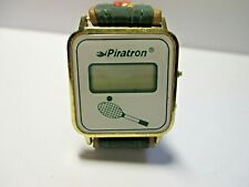 Nachlaß RAR ! schöne dekorative Armbanduhr DAU Piratron LCD Tennisuhr & Armband