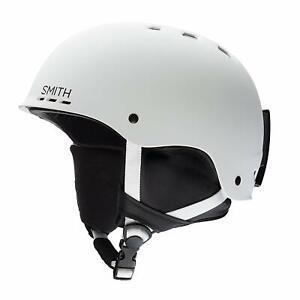 SMITH Adult Snowboard Snow - HOLT HELMET - Matte White - XL