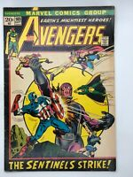 AVENGERS  #103 MARVEL 1972 Bronze Age COMIC BOOK THE SENTINELS ARE ALIVE & WELL!