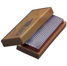 """DMT Benchstone Knife Sharpener 6"""" by 2"""" Diamond Knife Sharpener with Fine Grit"""