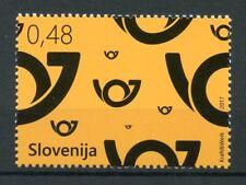 Slovenia 2017 MNH Postal Horn 1v Set Postal Services Stamps