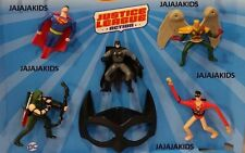 McDONALD'S 2016 DC JUSTICE LEAGUE - COMPLETE SET OF 8 - ON HAND - FREE SHIPPING