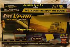 Bell + Howell TacVisor Day & Night Car Visor As Seen On TV 2-in-1 Car Visor NEW