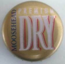MOOSEHEAD PREMIUM DRY used Beer CROWN, Bottle CAP, St. John, CANADA