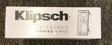 "Klipsch 6.5"" White In-Wall Speaker, Model R5650S Ii (Sold As Each) Brand New!"