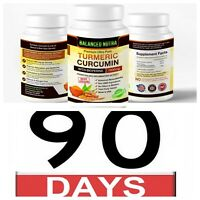 3 pack sale Best Selling Turmeric Curcumin with Bioperine Black Pepper 1500mg