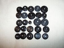 25  ASSORTED  KNOBS  FOR  ELECTRONIC  EQUIPMENT