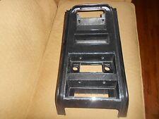 ORIGINAL 71-73 FORD MUSTANG UPPER CENTER CONSOLE plus RADIO BEZEL D1ZB-6504302-A