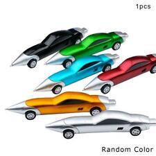 1X Funny Novelty Design Racing Car Shaped Ballpoint Pen Office Random Gifts J8J8
