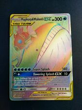 Magikarp & Wailord GX 183/181 Tag Team Team Up - NM Pokemon Rainbow Secret Rare
