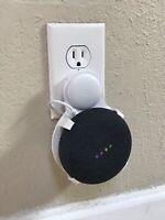 SturdyGrip™ PLUG-IN Wall Mount for Google Nest Mini (White)