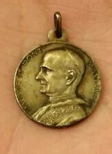 Vintage Genuine 800 Silver Pavlvs vi Pont Maximvs Medal Pendent Pope Paul VI