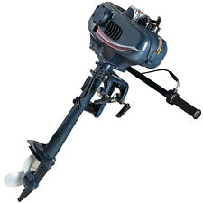 3.5HP 2 Stroke Power Outboard Motor Fishing Boat Engine Water Cooling CDI System