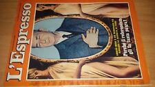 Rivista L' Espresso n. 18 del 1975 Aldo Moro