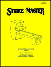 Strike Master Bowling Operations/Service Manual/Coin Arcade Shuffle Alley     XD