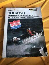 Tohatsu 2-Stroke Outboard Motor Shop Manual 1992-2000, Penton Staff WS26