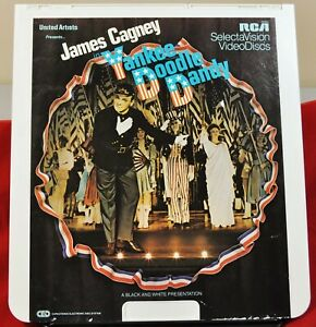 RCA VideoDisc CED - Yankee Doodle Dandy, James Cagney - UA, c.1943