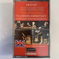Mozart Piano Concerto Nos 19 K 459 No 24 K491 Ashkenazy (Cassette) New