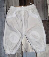 ~ Pantalon en coton blanc mixte 6 mois ~