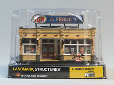 WOODLAND SCENICS N SCALE J FRANK'S GROCERY STORE BUILT & READY gauge 4941 NEW