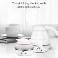1Pcs Mini Electric Kettle Durable Silicone Foldable Portable Travel Water Boiler