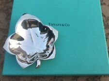 Tiffany & Co. Sterling Silver Vintage Maple Leaf Dish