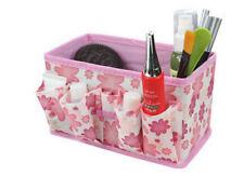 1PC Home Foldable Bright Stationary Bamboo Fibre Makeup Storage Box Bag PK YT8