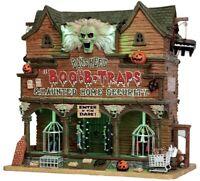"NIB Lemax Spooky Town Haunted Home Security ""Banshee's Boo-B-Traps"" Werewolf"
