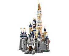Custom set Disney Castle Cinderella fits Lego 71040 4080pcs