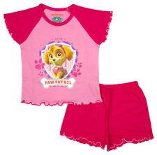 Pyjamas rose pour fille de 4 à 5 ans