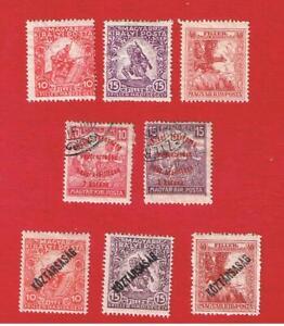 Hungary #B53-B60  MVFLH OG  Semi-Postal  Free S/H