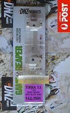"DNZ Game Reaper One Piece Scope Mount - Tikka T3 1"" - MEDIUM - Silver - #20550S"