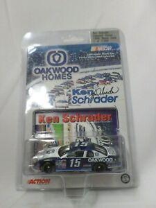 Action Nascar Diecast Car 1/64 Ken Schrader #15 1999 Monte Carlo NEW Sealed