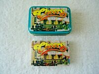 """ NOS "" Cheers Boston Playing Cards In Metal Tin "" BEAUTIFUL COLLECTIBLE ITEM """