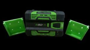 **2 Pack** GREEN EGO 56V Battery Wall/Under Shelf Holder Mount