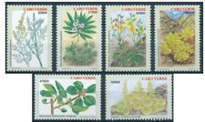 Cabo Verde - 2001 - Plantas Endémicas / Endemic Plants I - MNH