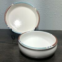 "DANSK INTERNATIONAL MESA WHITE Cereal Bowl 6"" And 7 1/2"" Salad Plate"