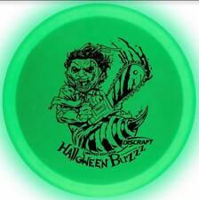 Discraft Z Buzzz Leatherface Halloween Glo Sweet Spot Disc Golf