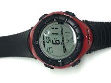 SUUNTO VECTOR Red digital watch working