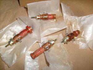 VINTAGE HEATHKIT EK-2 EK-2B RADIO RECEIVER -  ORIGINAL 4 LOOPSTICK TUNING COILS