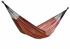 Vivere Brazilian Style Single Cotton Hammock with Carrying Bag, Jewels | BRAZ106