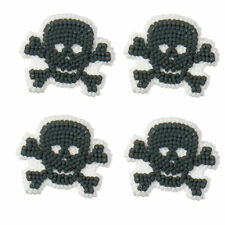 Skulls and Scrolls Halloween Icing Decorations 12 ct  from Wilton 234 - NEW