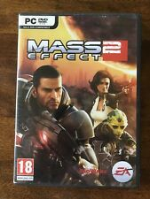 ps2 Mass Effect 2 Rated 18 Italian Version PC DVD Rom