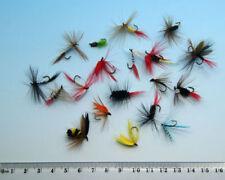 20 PCS Mixed Nymphs Mayfly Trout Flies 10# 12# 14# fly fishing W/ Free Box D388