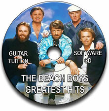 THE BEACH BOYS POP GUITAR TABS TABLATURE SONG BOOK ANTHOLOGY SOFTWARE CD LIBRARY