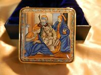 """Vintage Halcyon Days Enamel """" The Holy Family"""" -Limited Edition #134 out of 250"""